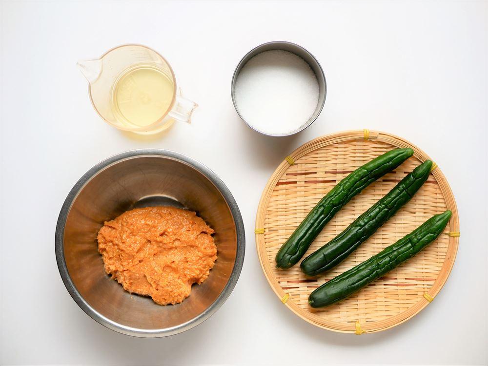 奈良漬の作り方 少量・短期間 ビニール袋で作る簡単あっさり奈良漬にチャレンジ!|奈良漬の材料