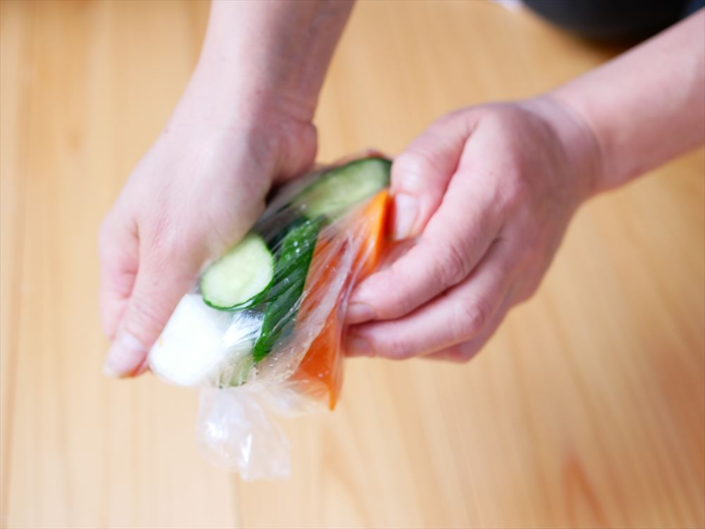 奈良漬の酒粕は再利用できる!おいしい料理レシピのご紹介|奈良漬風浅漬け